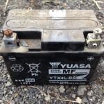 バイク ジャイロX バッテリー