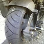 バイク マジェスティ4D9 タイヤ