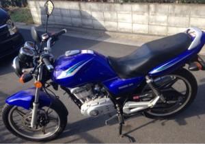 バイク EN125-2A