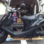バイク V100